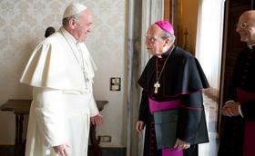 Telegram papeža Frančiška ob smrti prelata Opus Dei